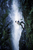 Waterfall repelling- the newest eco-adventure